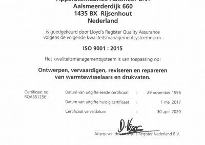 ISO 9001 NL