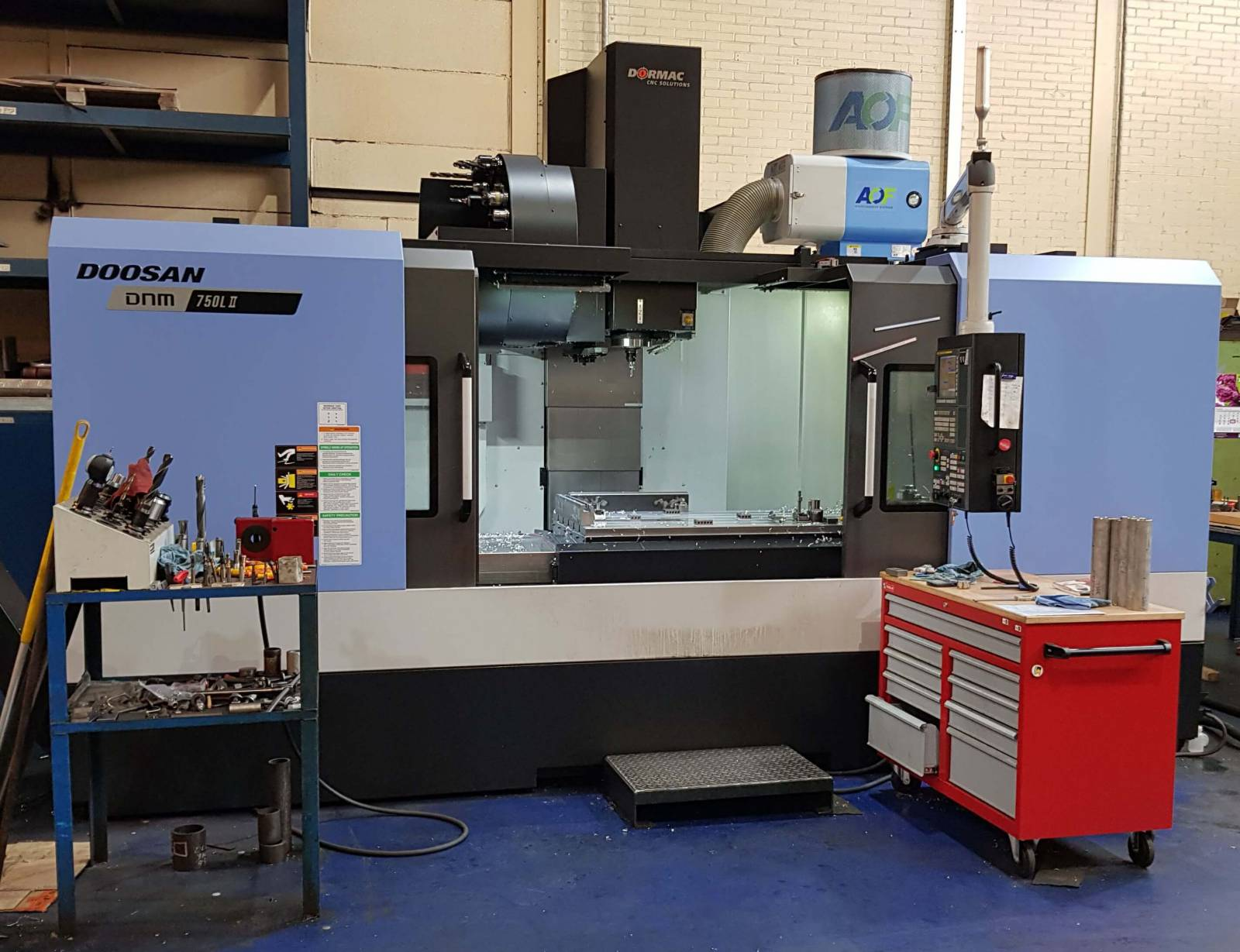 CNC- freesmachine